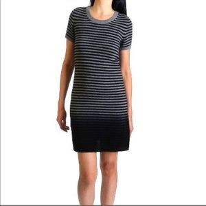 Theory cashmere ombré stripe sweater dress #167